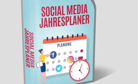 Social Media Jahresplanner